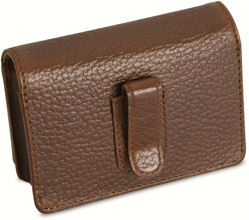 Kodak Premiere Leather Camera Case - Cowboy Brown
