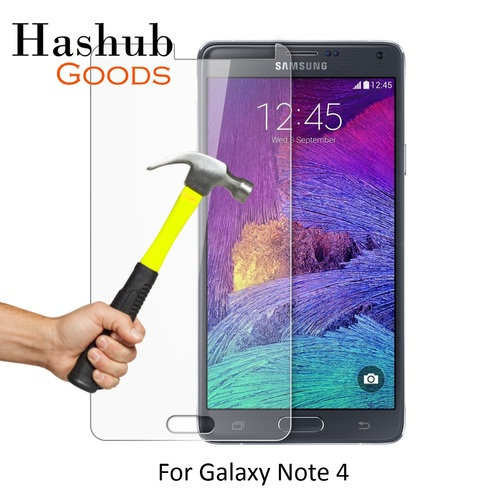HD 9H Tempered Glass Clear Screen Protector for Samsung Galaxy Note 4