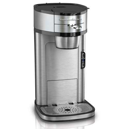Hamilton Beach Scoop Single-Cup Coffee Maker - Factory Refurbished
